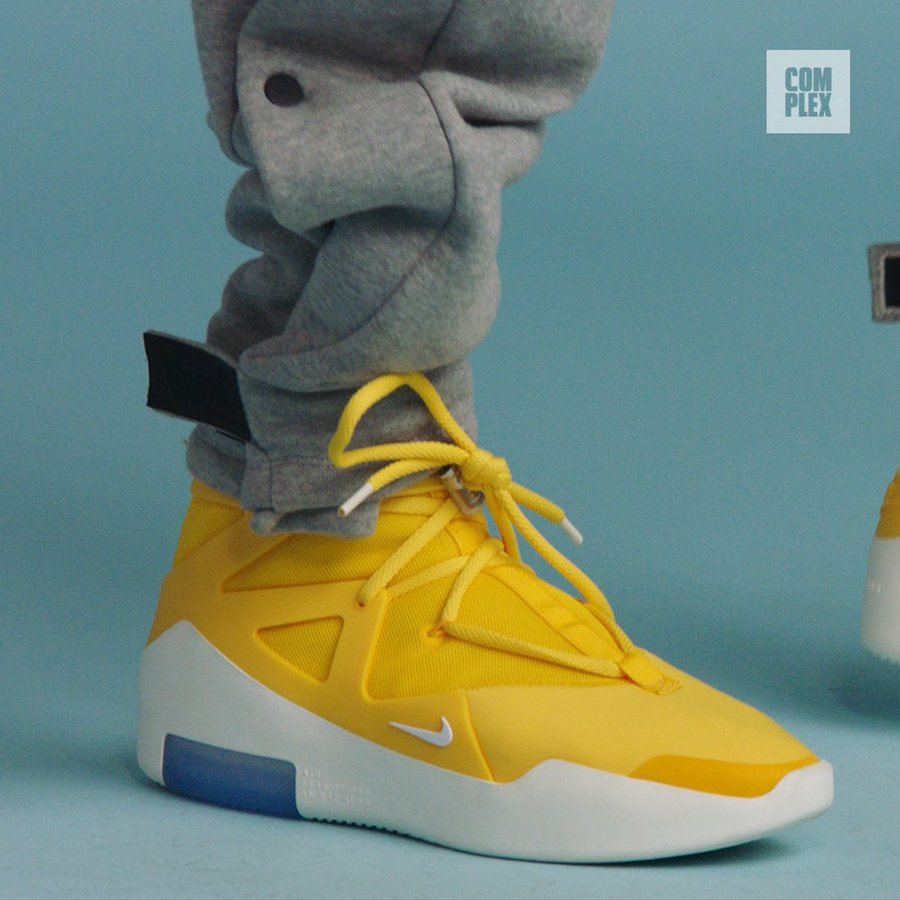 Nike Air Fear of God 1 Yellow Release Date