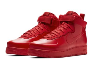 7fcd495d95d21 Nike Air Force 1 Foamposite Releasing in Red