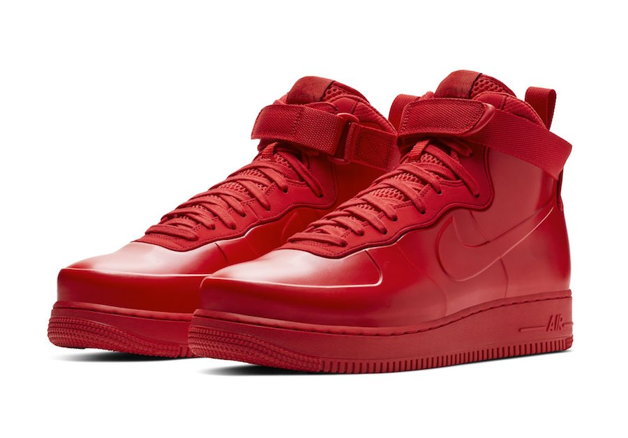hot sale online 9f2a6 c0a12 Nike Air Force 1 Foamposite Red BV1172-600 Release Date