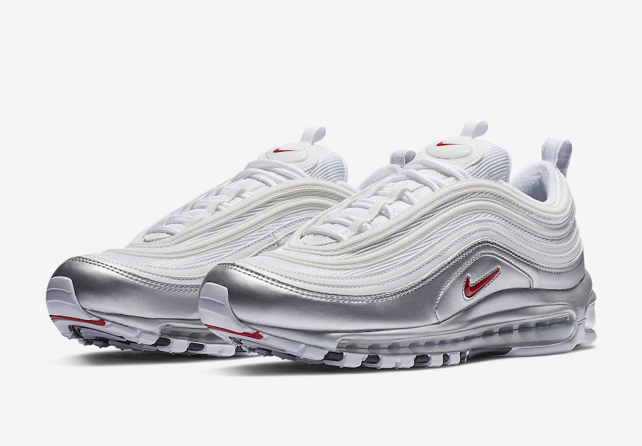 Nike Air Max 97 White Metallic Silver AT5458-100 Release Date