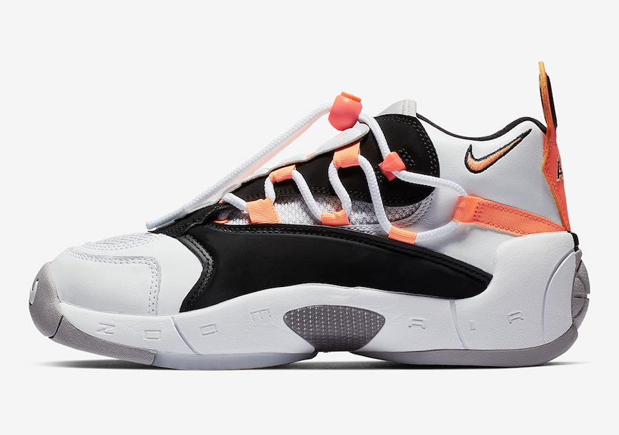Nike Air Swoopes 2 Orange Pulse 917592-102 Release Date