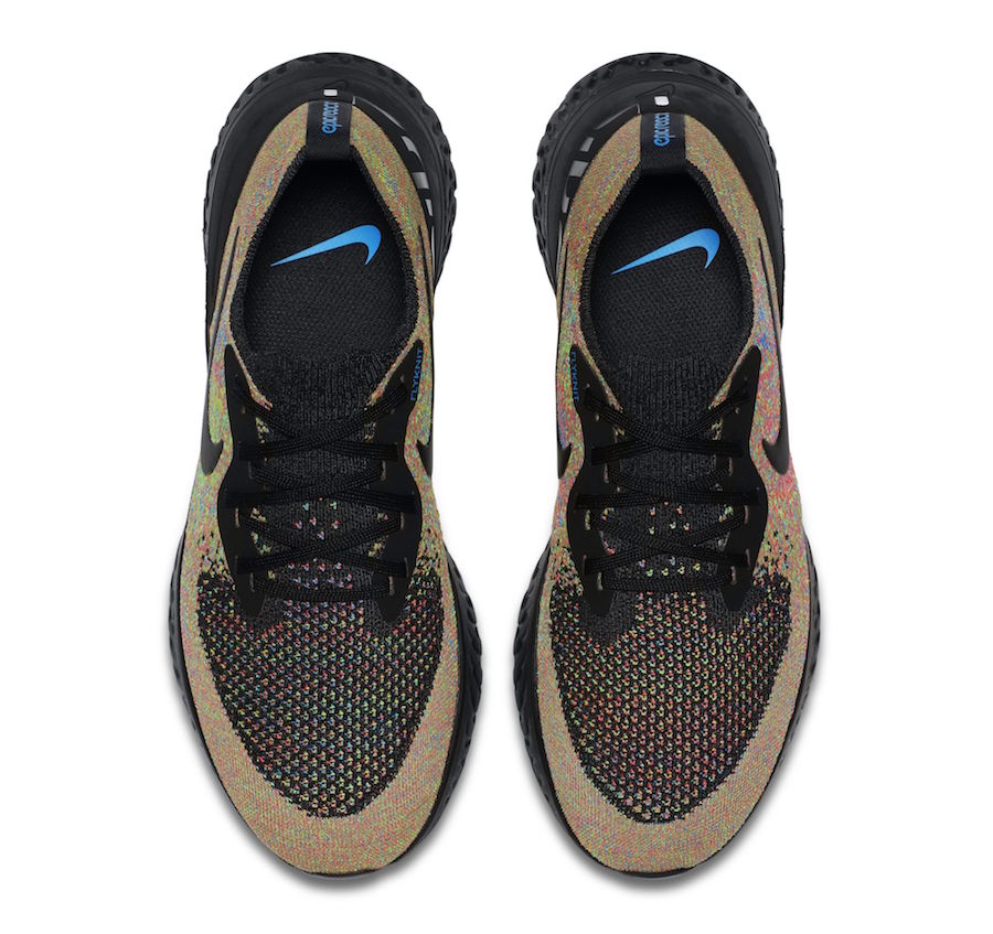 266c26254af1 Nike Epic React Flyknit Multicolor AT6162-001 Release Date - SBD