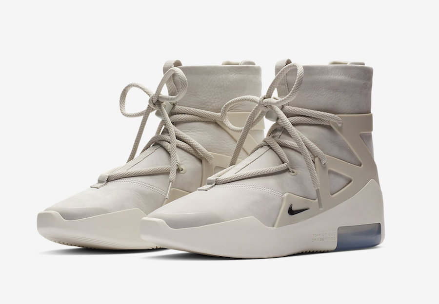 Nike Fear of God 1 Light Bone AR4237-002 Release Date