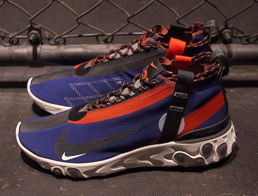 Nike ISPA React LW WR Mid Blue AT3143-400 Release Date
