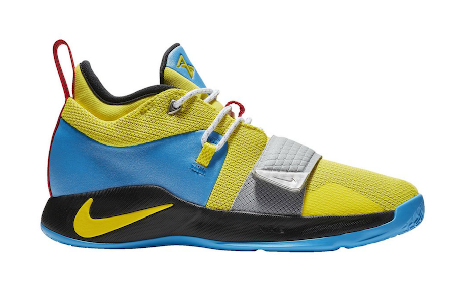 huge discount a63e6 1fbbe Nike PG 2.5 Opti Yellow Blue Hero BQ9457-740 Release Date - SBD