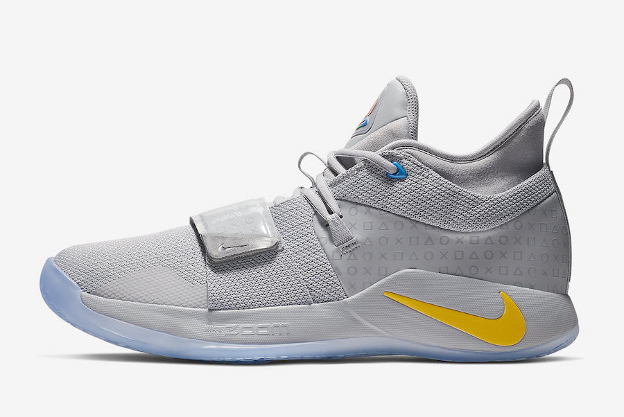 Nike PG 2.5 PlayStation Wolf Grey BQ8388-001 Release Date Price