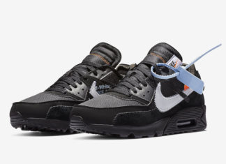Off-White Air Max 90 Black AA7293-001 Release Date Price