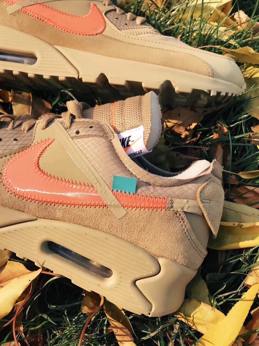 Off-White Air Max 90 Desert Ore AA7293-200 Release Date