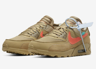 Off-White Air Max 90 Desert Ore AA7293-200 Release Date Price