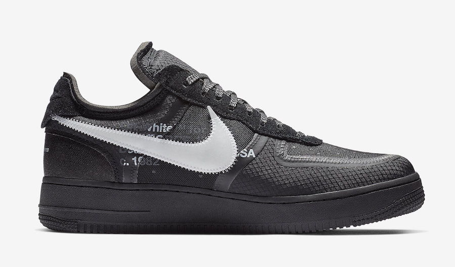 Off-White Nike Air Force 1 Low AO4606-001 Release Date