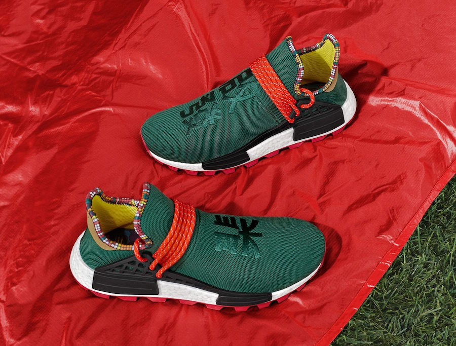 ff2f4e846 Pharrell adidas NMD Hu Inspiration Green Asia Exclusive Release Date ...