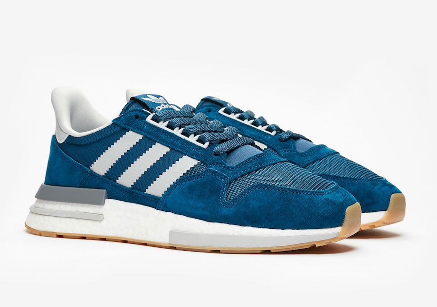 Sneakersnstuff adidas ZX 500 RM Blue Night F36882 Release Date