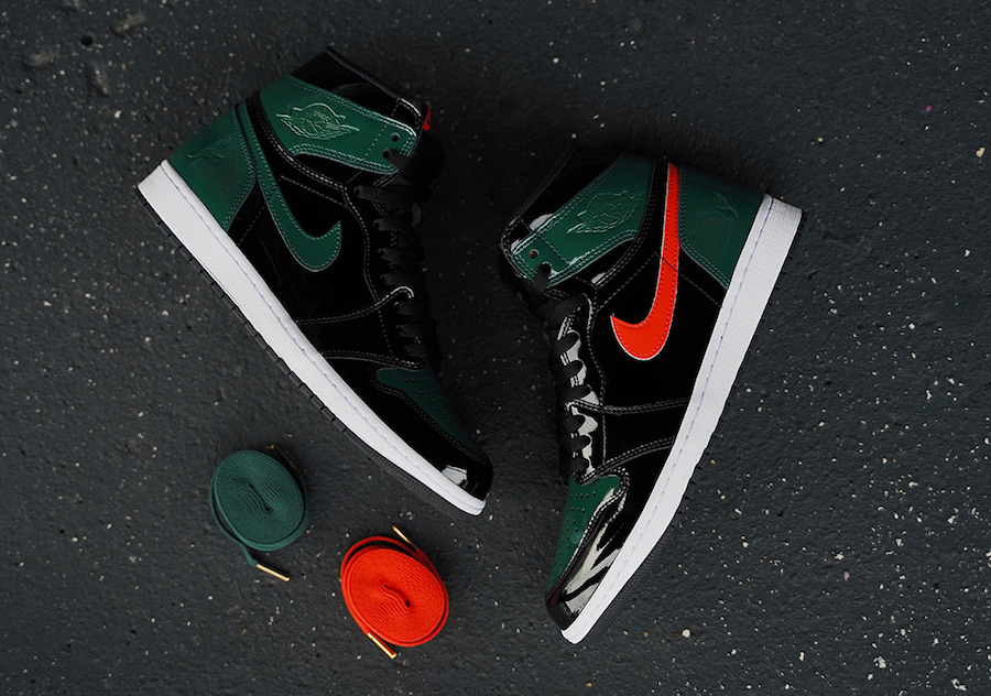 SoleFly Air Jordan 1 Patent Leather Miami Art Basel Release Date