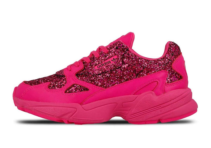 the best attitude 87b5d 90bc1 adidas Falcon Shock Pink BD8077 Release Date