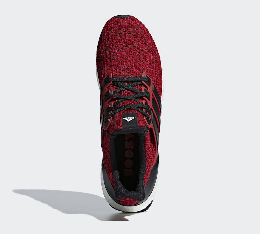 adidas Ultra Boost 4.0 Black Red EE3703 Release Date