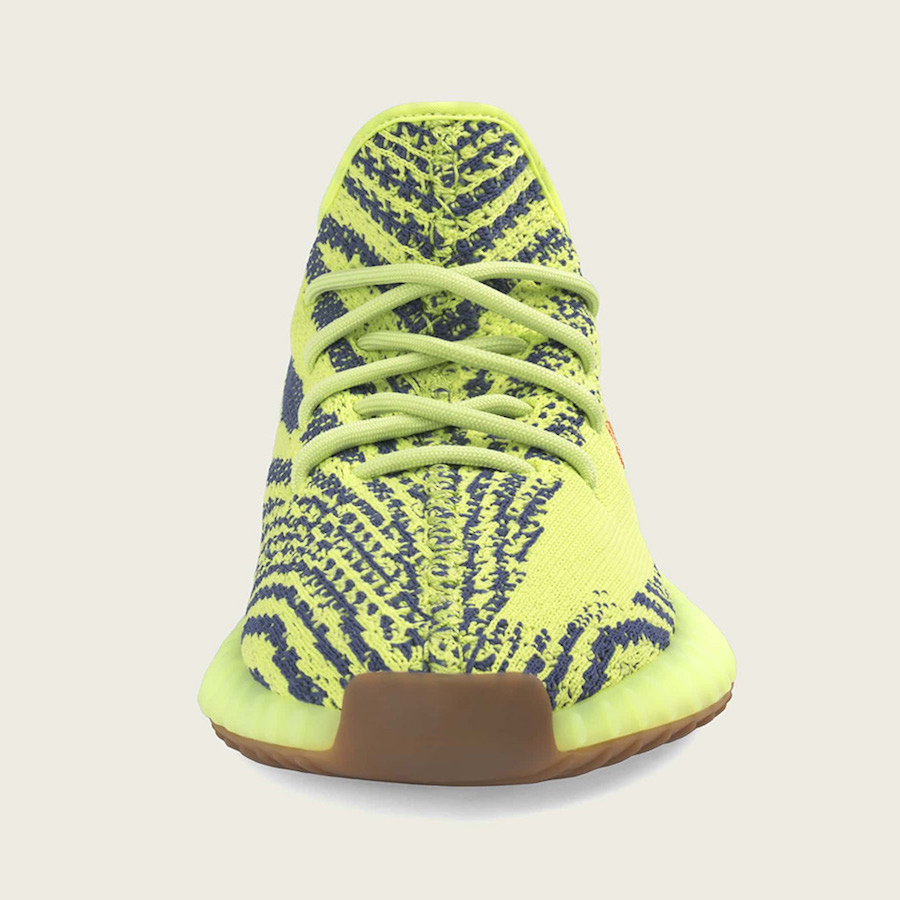 db19a73947f adidas YEEZY Boost 350 V2 Semi Frozen Yellow Restock 2018 Release Date