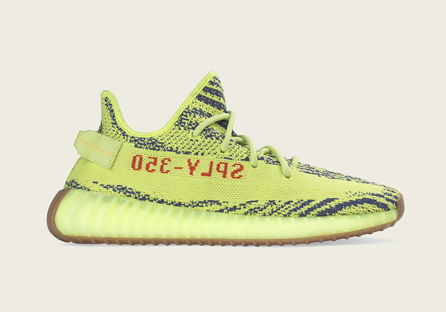 promo codes best price genuine shoes adidas YEEZY Boost 350 V2 Semi Frozen Yellow Restock 2018 ...