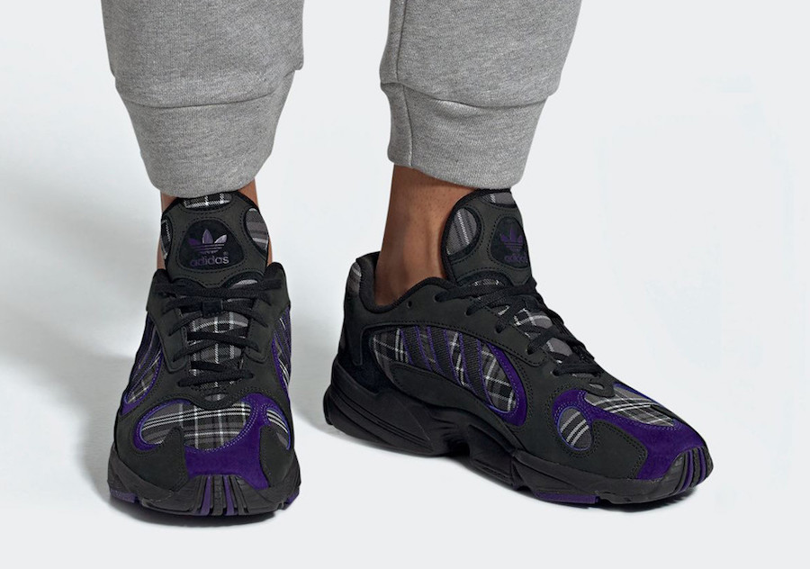 adidas Yung-1 Plaid EF3965 Release Date