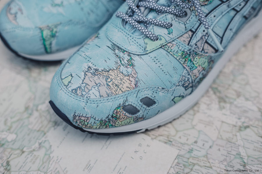 atmos ASICS Gel Lyte III World Map Release Date Price
