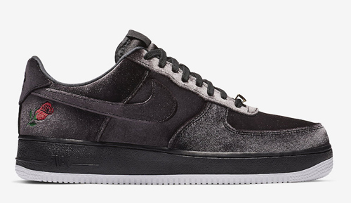 "42fa91bdf27 Nike Air Force 1 ""Satin"" Color  Black White Style Code  AH8462-003. Release  Date  November 24"