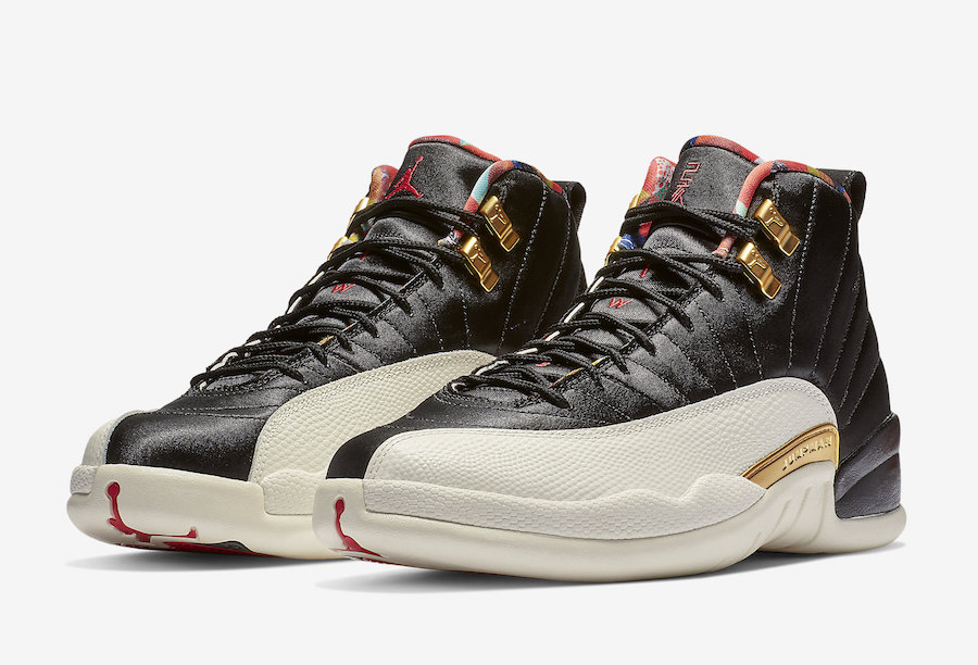 Air Jordan 12 CNY Chinese New Year 2019 CI2977-006 Release Date Price
