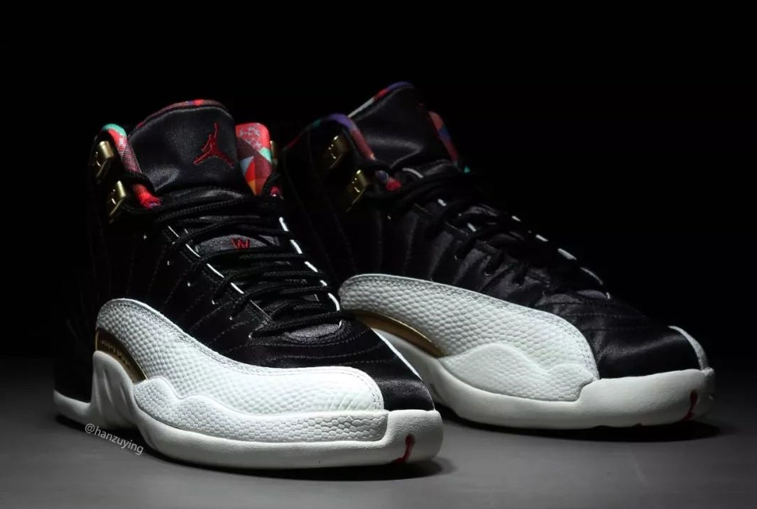 "c619bf7eb4c4 UPDATE  The Air Jordan 12 ""Chinese New Year"" will release in both men s and  grade school sizing. Here is another look at the CNY Jordan 12s in its  grade ..."