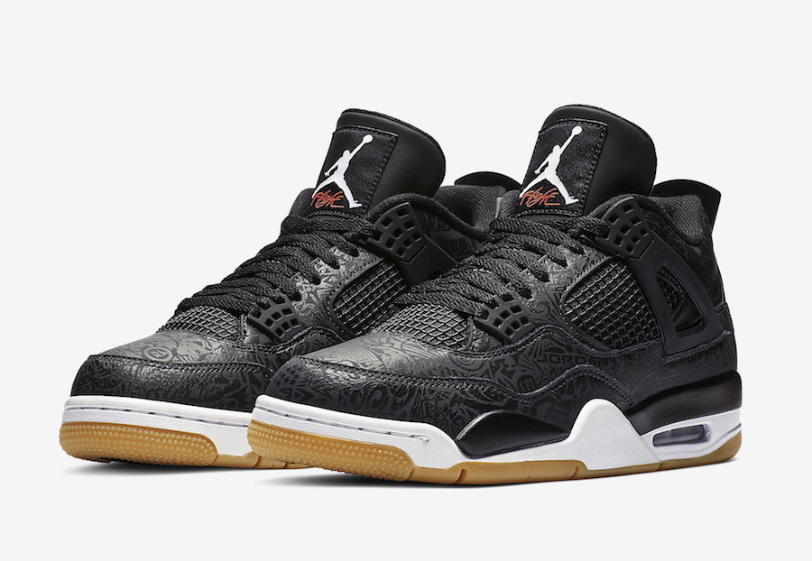the best attitude 66943 00539 Air Jordan 4 Black Laser CI1184-001 Release Date Price