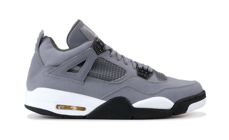 outlet store 1acf0 aacc7 Air Jordan 4 Cool Grey Retro 2019