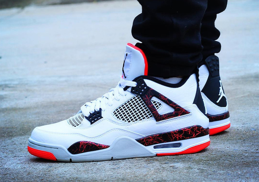 bd323ed548d Air Jordan 4 Hot Lava 308497-116 Release Date - Sneaker Bar Detroit