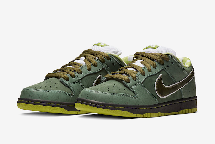 Concepts Nike SB Dunk Low Green Lobster BV1310-337 Release Date Price