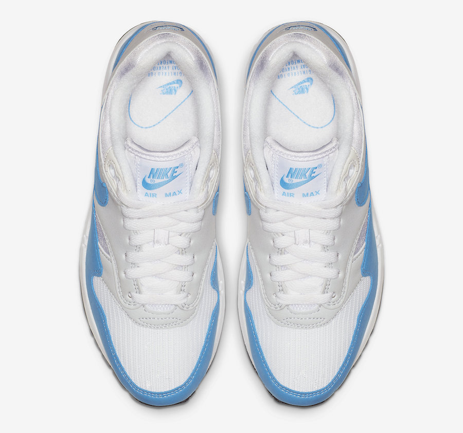 Nike Air Max 1 Baby Blue Bv1981 100 Release Date Sbd