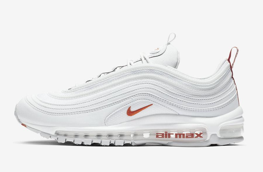 3938fe92a3 Nike Air Max 97 White Team Orange BV1985-002 Release Date - SBD