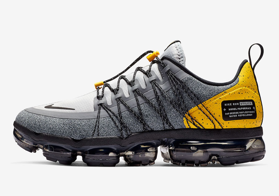 Nike Air VaporMax Run Utility Wolf Grey Amarillo AQ8810-010