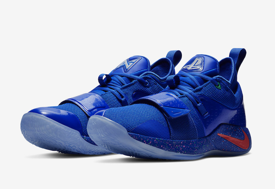 PlayStation Nike PG 2.5 Blue BQ8388-900 Release Date