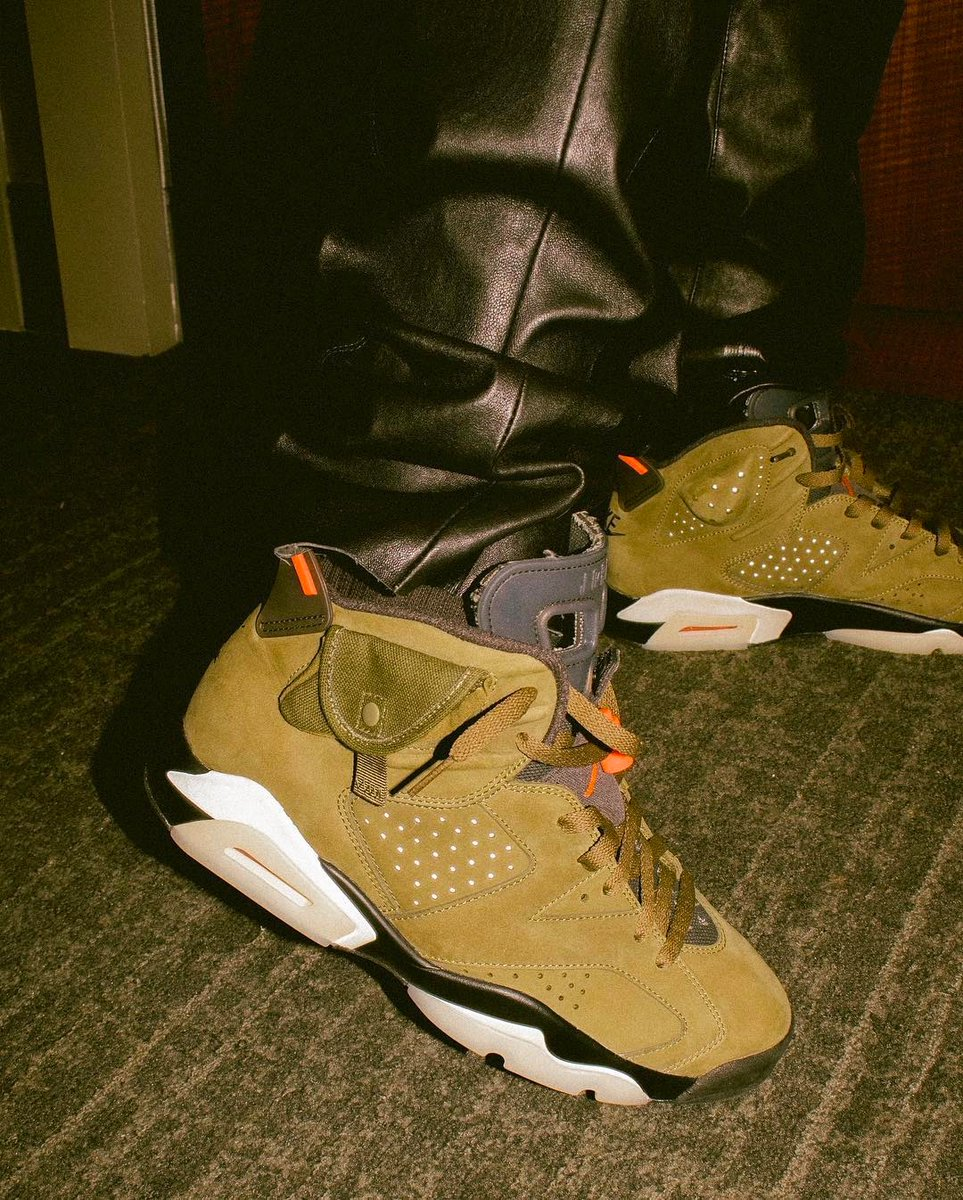 Travis Scott Air Jordan 6 Medium Olive Release Date Price
