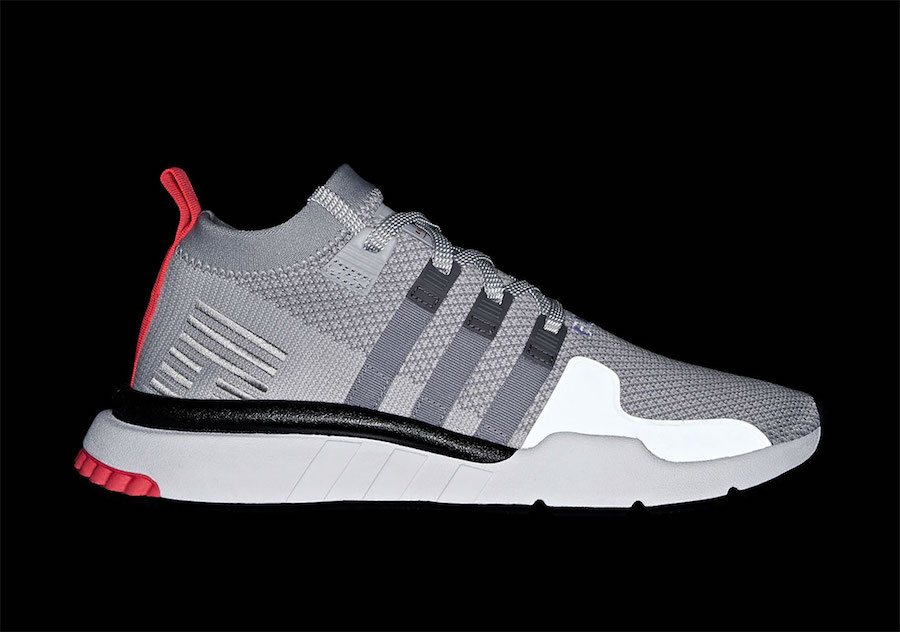 37aeed8bae0 adidas EQT Support Mid ADV Color  Grey Grey-Core Black Style Code  BD7775  Release Date  January 1