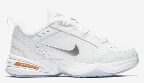"e5f6a769a8c1 Nike Air Monarch 4 ""Snow Day"" Style Code  AV6676-100. Release Date  January  3"