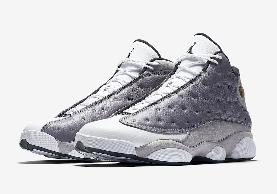 41afffb839f1 Air Jordan 13 Atmosphere Grey 414571-016 Release Date - SBD