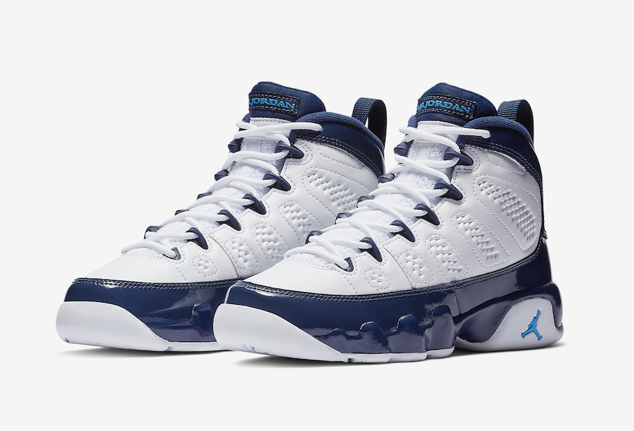san francisco 709ab 2c67c Air Jordan 9 UNC All-Star University Blue Midnight Navy ...