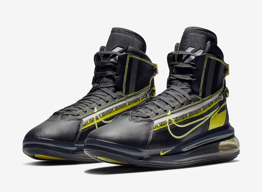 new product a7c87 9023b Nike Air Max 720 Saturn BV7786-001 Release Date - SBD