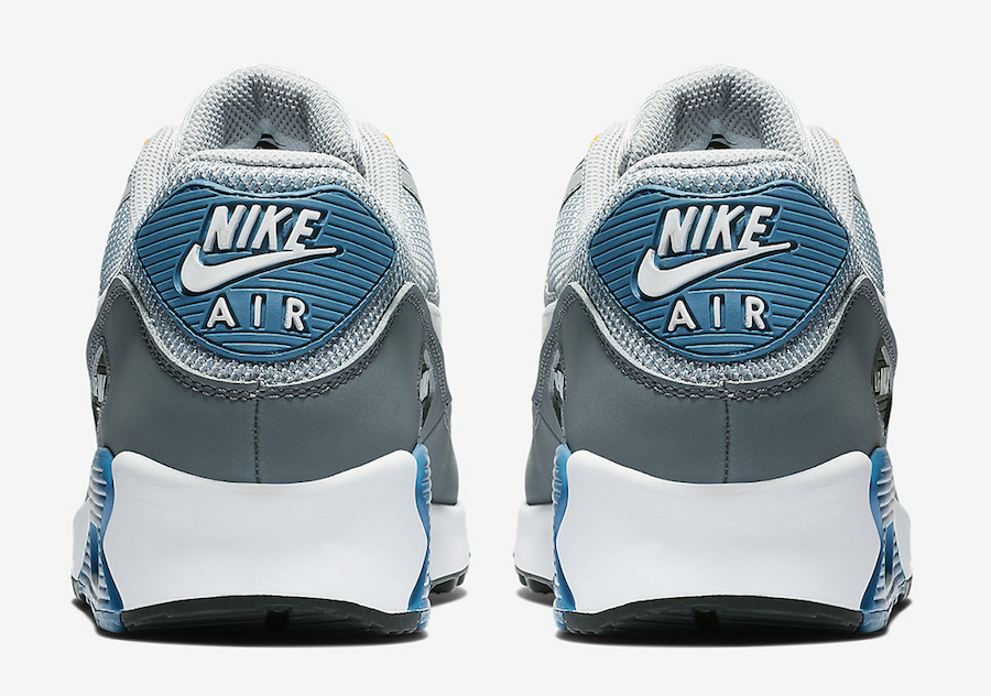 best website 46649 d2eb5 Nike Air Max 90 Wolf Grey Indigo Storm AJ1285-016 Release Date