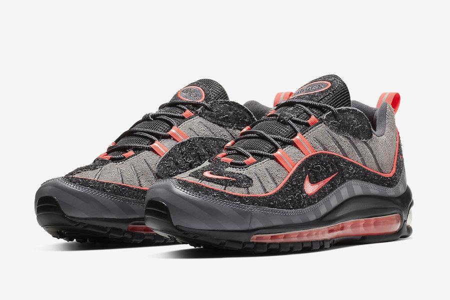 Nike Air Max 98 I-95 Lava Glow BV6046-001 Release Date