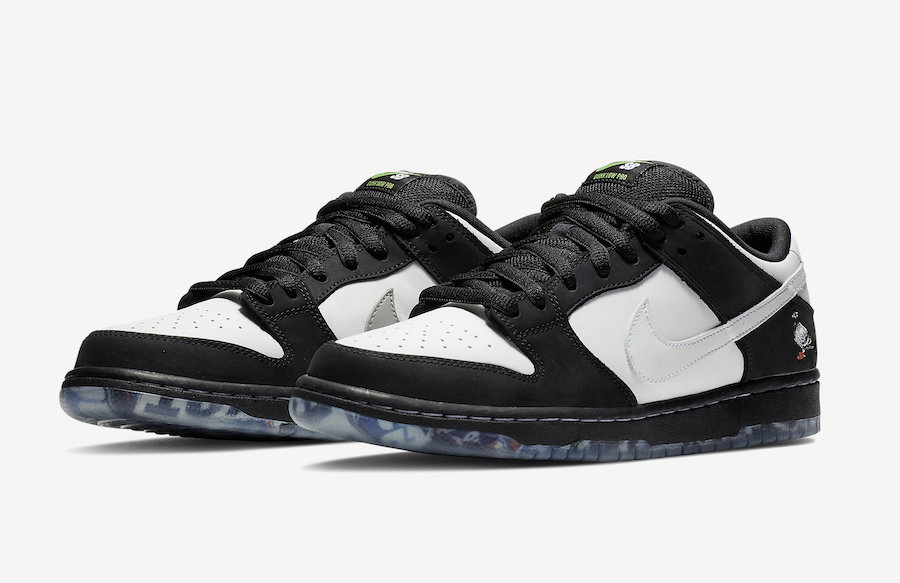 buy popular b2482 14120 Nike SB Dunk Low Panda Pigeon BV1310-013 Release Date Price. One of the  most popular ...