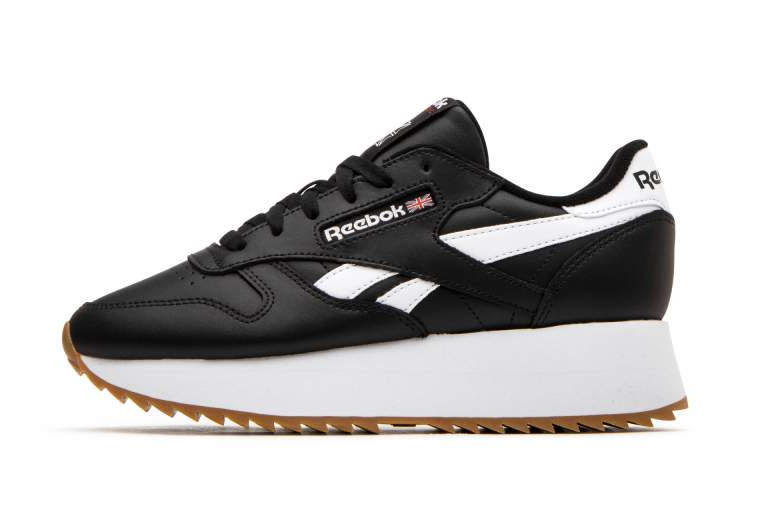 Reebok Classic Leather Double Black White Release Date