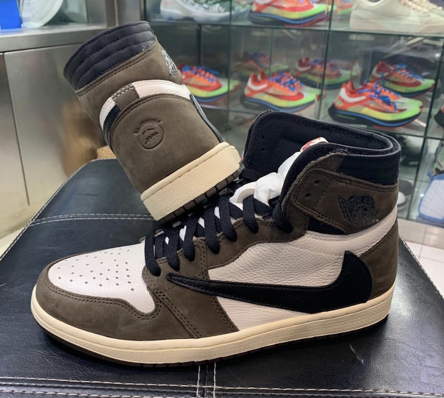 timeless design 3f7ae 978fe Travis Scott Air Jordan 1 CD4487-100 Release Date - Sneaker ...