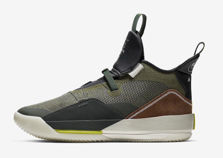 Travis Scott Air Jordan 33 CD5965-300 Release Date