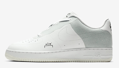 new product ff0b1 bb543 ... czech a cold wall x nike air force 1 low color white light grey black  style