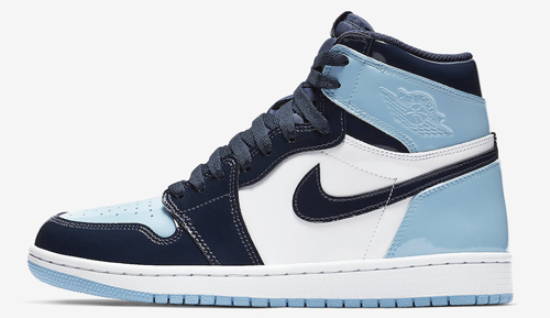 72cff591b1a06 Air Jordan 1 Retro High OG WMNS Color  Obsidian Blue Chill-White Style  Code  CD0461-401. Release Date  February 14