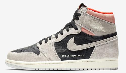 6817b729ebe324 Air Jordan 1 Retro High OG Color  Neutral Grey Hyper Crimson-White-Black  Style Code  555088-018. Release Date  January 24