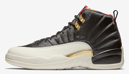 "9cb71780a88 Air Jordan 12 ""Chinese New Year"" Color  Black Sail-Metallic Gold-True Red  Style Code  CI2977-006. Release Date  February 5"